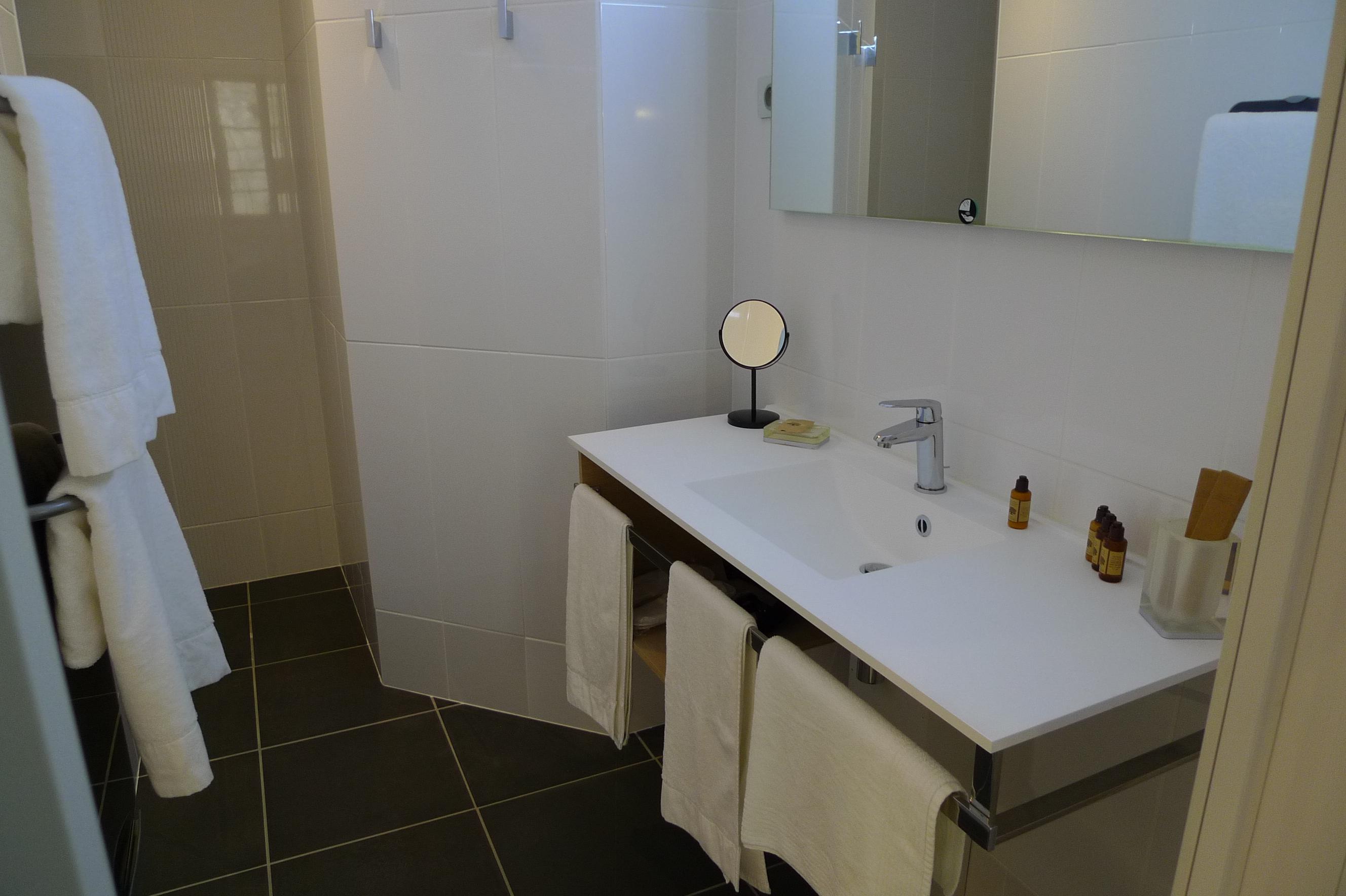 Salle de bain privative avec douche à l'italienne